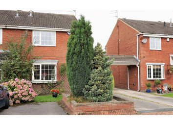 Thumbnail 3 bed semi-detached house for sale in Oakdene Court, Shadwell