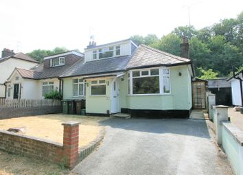 Thumbnail 3 bed semi-detached bungalow for sale in Old Watford Road, Bricket Wood, St. Albans