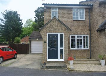 Thumbnail 3 bed semi-detached house for sale in Maybrook, Chineham, Basingstoke