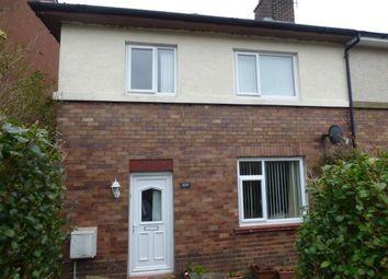 Thumbnail 3 bed semi-detached house for sale in Ffordd Y Castell, Bangor, Gwynedd