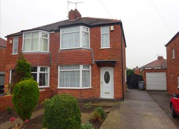 Thumbnail 2 bed semi-detached house for sale in Grasmere Drive, York