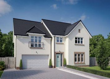 "Thumbnail 5 bedroom detached house for sale in ""The Garvie"" at Dalmahoy Crescent, Balerno"