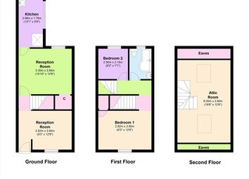 Thumbnail 2 bed property to rent in Duncan Street, Barrow In Furness
