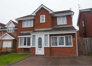 Thumbnail 4 bed detached house for sale in Scoular Drive, Ashington