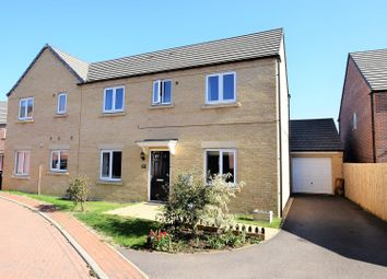 Thumbnail 3 bed semi-detached house for sale in The Courtyard, Main Road, Barleythorpe, Oakham