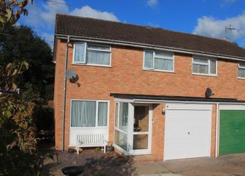 Thumbnail 3 bedroom semi-detached house for sale in Meadow Close, Ottery St. Mary