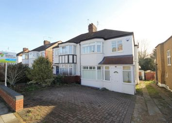 Thumbnail 3 bed semi-detached house to rent in Hadley Way, London