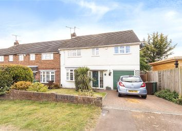 Thumbnail 4 bed detached house for sale in Crabtree Lane, Harpenden, Hertfordshire
