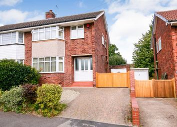 Thumbnail 3 bed semi-detached house for sale in Carlton Road, Bilton, Rugby