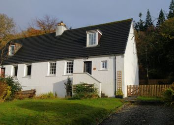 Thumbnail 3 bedroom semi-detached house for sale in Woodsman's Cottage 2 Alt-Na-Blathaich, Loch Eck, Dunoon
