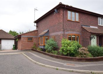 Thumbnail 2 bed semi-detached house for sale in Kenley Close, Wickford, Essex