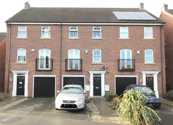 Thumbnail 4 bed property for sale in Hudson Way, Grantham