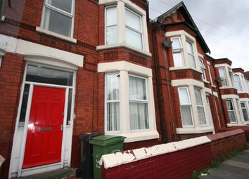 Thumbnail 4 bedroom terraced house to rent in Park Road, Wallasey