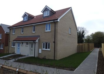 Thumbnail 4 bedroom semi-detached house for sale in Carr Avenue, Leiston, Suffolk