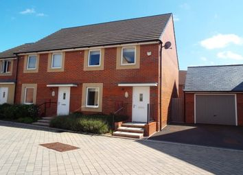 Thumbnail 3 bed semi-detached house to rent in Pinching Close, Wells