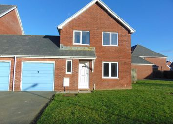 Thumbnail 3 bed semi-detached house to rent in Cormorant Close, Cashfield Estate, Haverfordwest