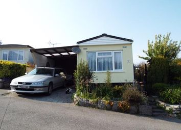 Thumbnail 2 bed mobile/park home for sale in Luxulyan, Bodmin, Cornwall