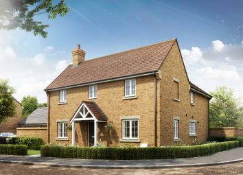 Thumbnail 4 bed detached house for sale in Longcot Road, Shrivenham, Swindon