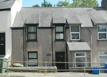 Thumbnail 2 bed terraced house for sale in Caernarfon Road, Pwllheli, Pwllheli, Gwynedd