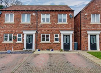 Thumbnail 3 bed semi-detached house for sale in Church View, Howden Road, Barlby