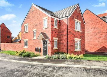 Thumbnail 3 bed detached house for sale in Clovelly Drive, Hampton Gardens, Peterborough