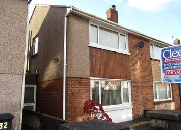 Thumbnail 3 bed semi-detached house for sale in Hospital Road, Port Talbot, Neath Port Talbot.