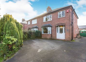 Thumbnail 3 bed semi-detached house for sale in Leek Road, Congleton, Cheshire