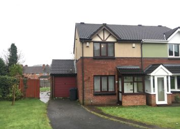Thumbnail 3 bed semi-detached house to rent in Dorrington Green, Great Barr, Birmingham