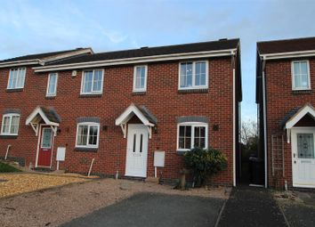 Thumbnail 2 bed end terrace house for sale in Snowdrop Meadow, Ketley, Telford
