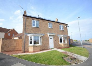 Thumbnail 4 bed detached house for sale in Weybourne Lea, Seaham