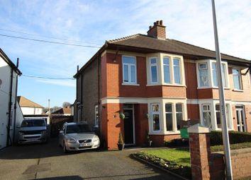 Thumbnail 3 bedroom semi-detached house for sale in St. Davids Crescent, Llanfaes, Brecon
