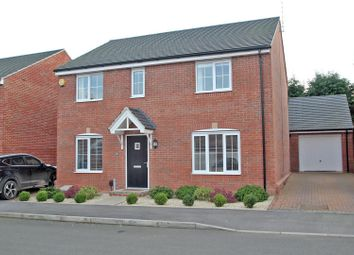 Thumbnail 4 bed detached house for sale in Stonebridge Way, Calverton, Nottingham