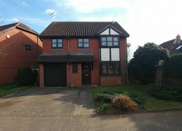 Thumbnail 3 bed detached house for sale in Cardew Drift, Grange Farm, Kesgrave, Ipswich