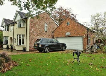 Thumbnail 4 bed detached house for sale in Cookes Lane, Northwich