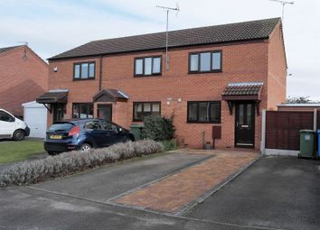 Thumbnail 2 bed semi-detached house to rent in Maun Close, Retford