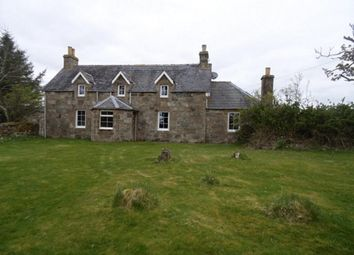Thumbnail 4 bed detached house for sale in Old Post Office, Dalhalvaig, Forsinard