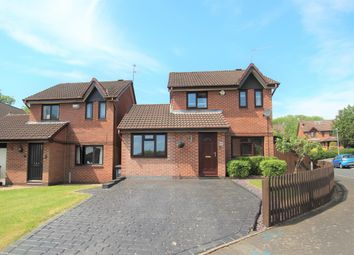 Thumbnail 3 bed detached house for sale in Longfellow Close, Redditch