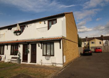 Thumbnail 2 bed end terrace house for sale in Rosebery Road, Chatham, Kent