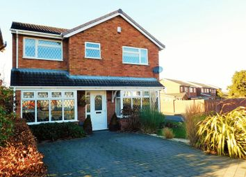 Thumbnail 4 bed detached house for sale in Blount Close, Penkridge, Stafford