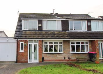Thumbnail 3 bed semi-detached house for sale in Birchfield Drive, Worsley, Manchester