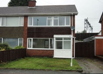 Thumbnail 3 bed semi-detached house for sale in 19 Freville Close, Tamworth, Staffordshire
