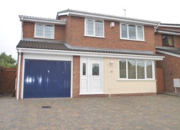 Thumbnail 4 bed detached house to rent in St. Andrews Drive, Perton, Wolverhampton