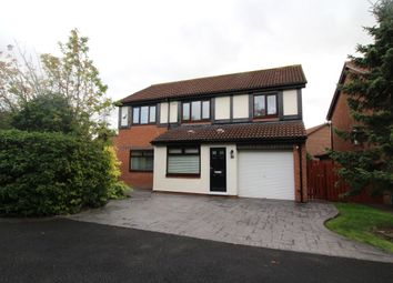 Thumbnail 4 bedroom detached house for sale in Canonsfield Close, North Walbottle, Newcastle Upon Tyne