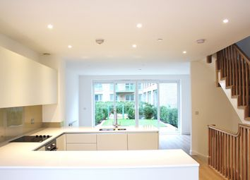 Thumbnail 3 bed town house to rent in Ottley Drive, Astell Road, London