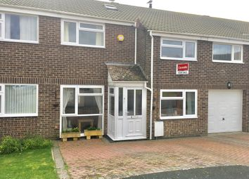 Thumbnail 4 bed terraced house for sale in Wallsend Close, Portland