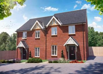 Thumbnail 2 bed semi-detached house for sale in Cambridge Road, Stansted