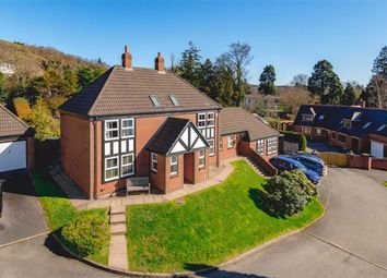 Thumbnail 4 bedroom detached house for sale in 4, Dolerw Park Drive, Milford Road, Newtown, Powys