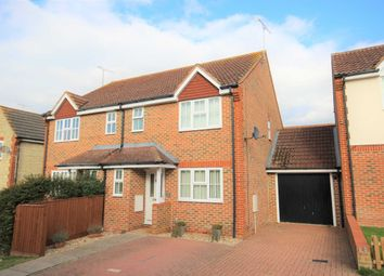 Thumbnail 3 bed semi-detached house for sale in Berners Way, Faringdon, Oxfordshire
