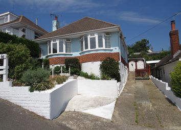 Thumbnail 3 bedroom detached bungalow for sale in Fortescue Road, Parkstone, Poole