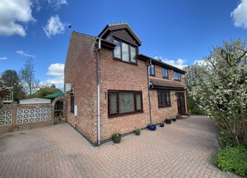 Thumbnail 4 bed detached house for sale in Elms Close, Riccall, York